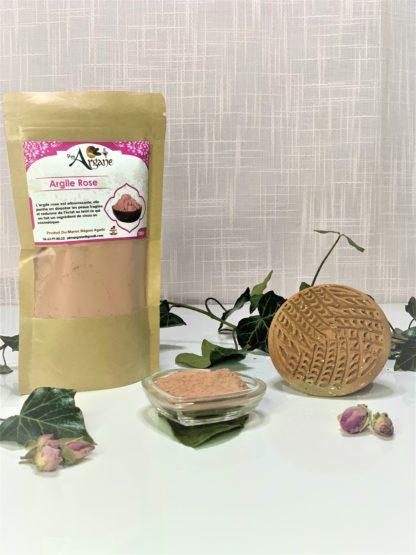 Argile Rose du Maroc bio - Pimargane