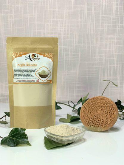 Argile Blanche du Maroc bio - Pimargane