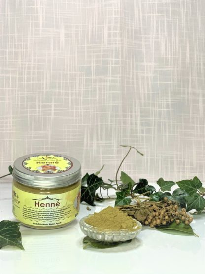 Henné du Maroc bio - Pimargane