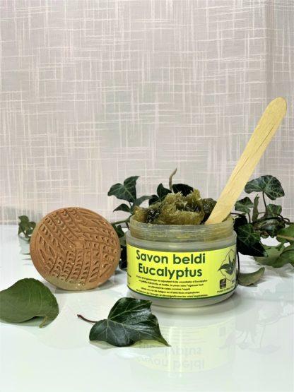 Savon noir beldi eucalyptus - Pimargane