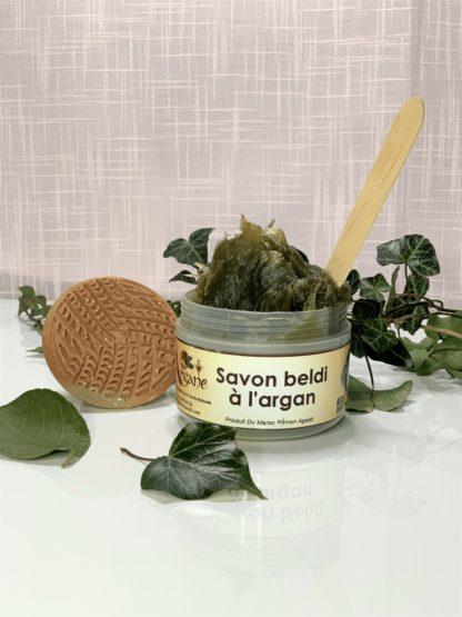 Savon noir Beldi à l'argan Maroc - pimargane