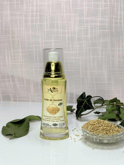 huile de sésame bio Maroc - pimargane