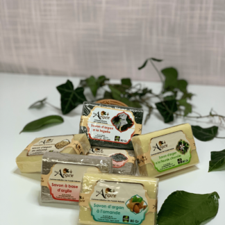 Les savons à l'huile d'argan - pimargane
