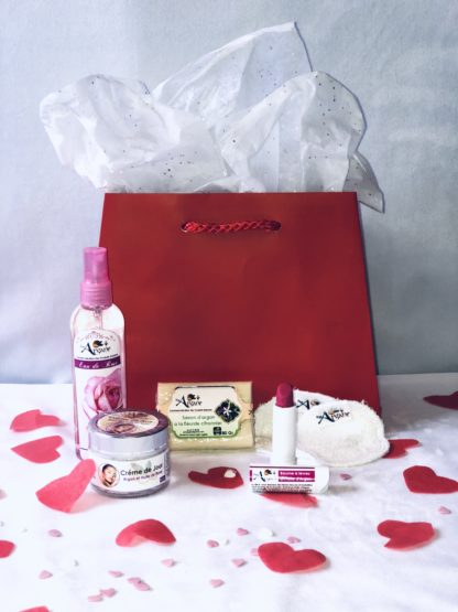 Coffret exceptionnelle Saint Valentin-Pimargane